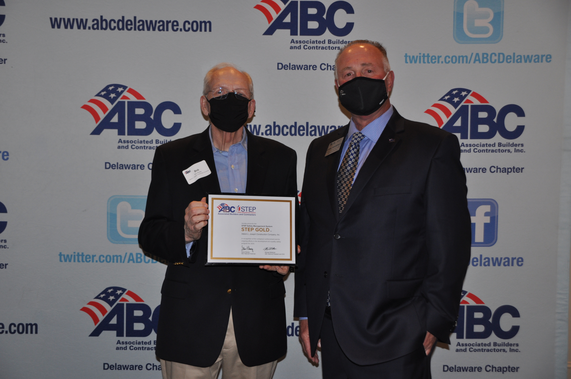 Gold STEP Award from the Associated Builders and Contractors